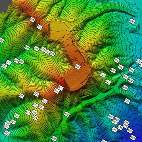 topografia antofagasta